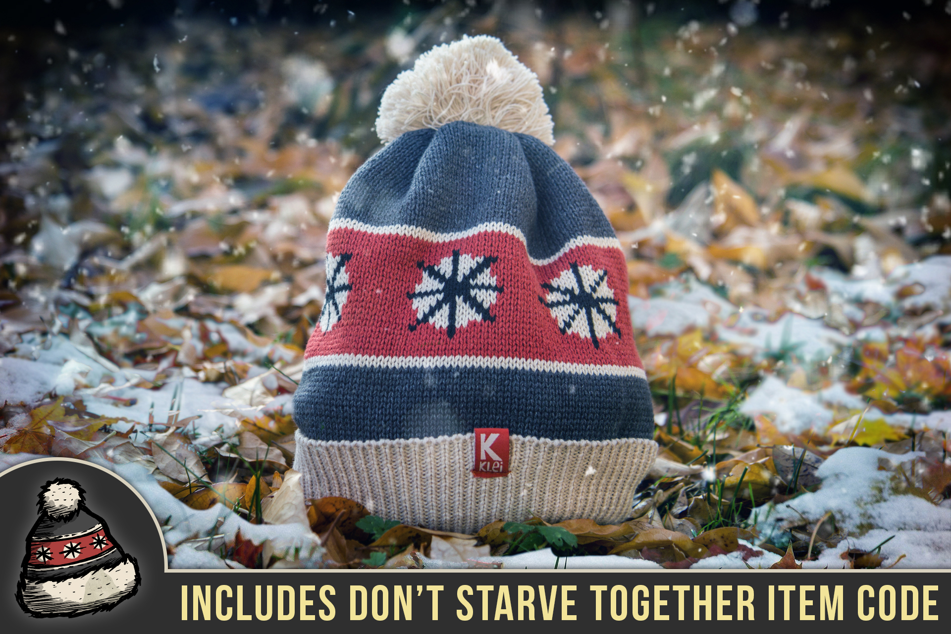 c2c09c97ad9 Don t Starve  Winter Hat (Dark Grey) – Klei Store