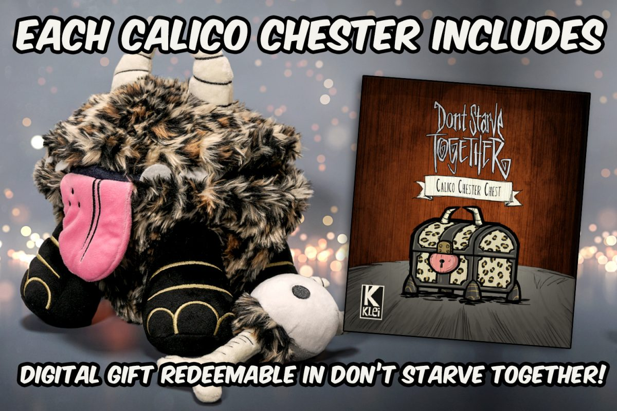 Special Edition Calico Chester Plush