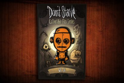 Don't Starve Metal Character Pins - Series 1