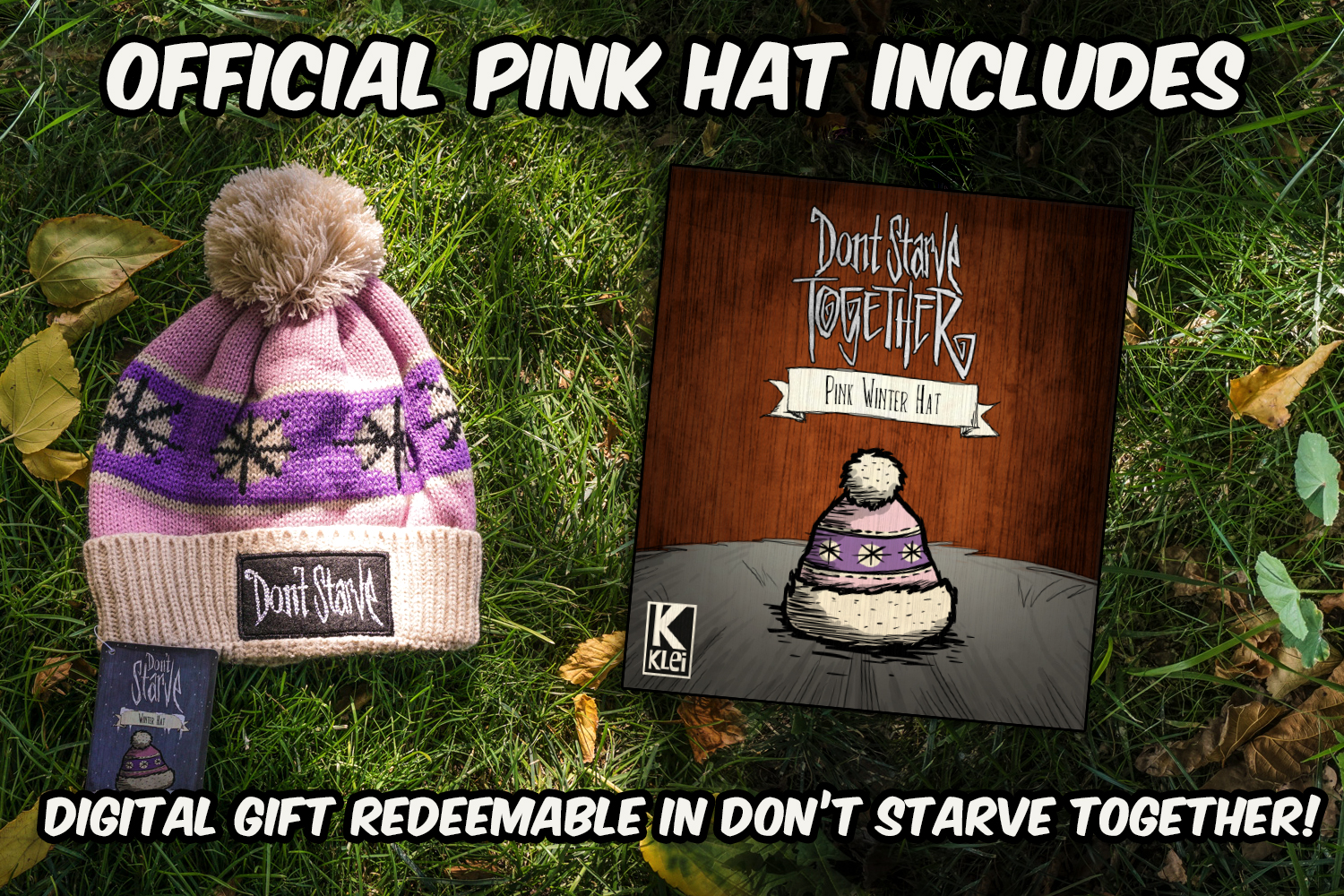 Don't Starve Pink Winter Hat Replica
