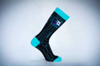 Invisible Inc Shop Cat Socks