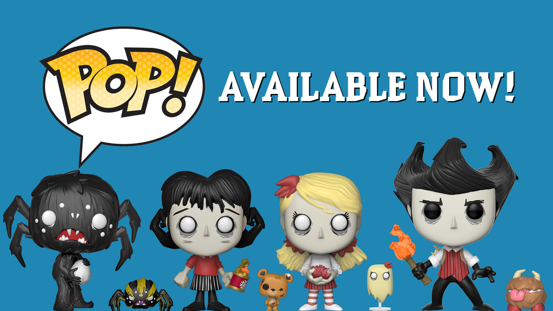 Funko POPs Available Now!