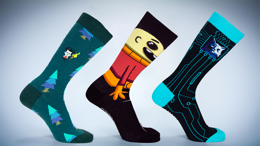 New Klei Game Socks!